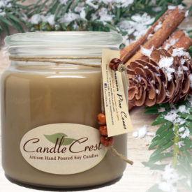 Fall Candles - Cinnamon Pinecones Soy Candles by Candle Crest