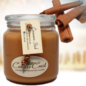Cinnamon Scented Soy Candles by Candle Crest Soy Candles Inc