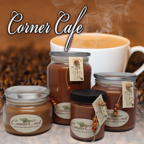 Coffee Scented Candles by Candle Crest Soy Candles
