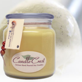 Creamy Vanilla - Vanilla Bean Soy Candles by Candle Crest