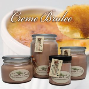 Creme Brulee Scented Candles by Candle Crest Soy Candles Inc