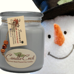 Dirty Snowman Soy Candles by Candle Crest Soy Candles Inc
