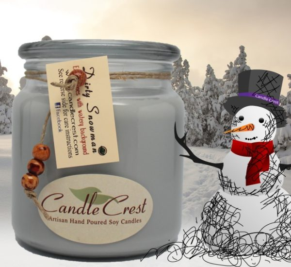 Dirty Snowman - Scented Soy Candles by Candle Crest