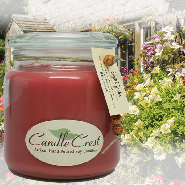 Floral Scented Candles - English Garden by Candle Crest
