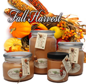 Fall Candles - Fall Harvest Soy Candles by Candle Crest Soy Candles Inc