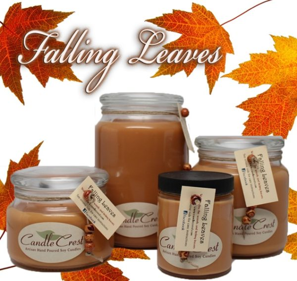 Falling Leaves Soy Candles - Fall Candles on Sale