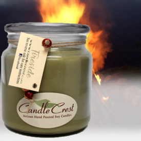 Fireside Scented Candles by Candle Crest Soy Candles Inc