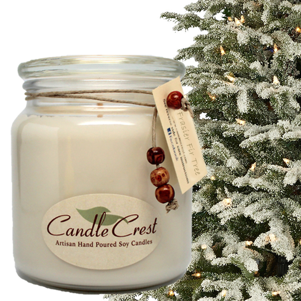 Frasier Fir Tree Soy Candles by Candle Crest Soy Candles
