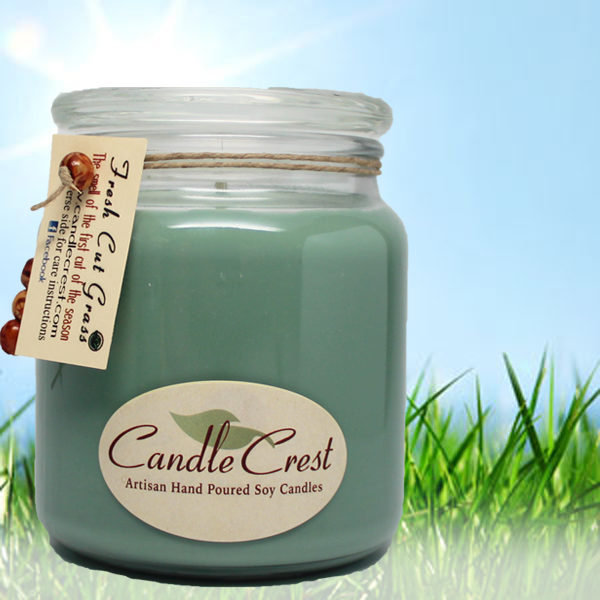 Grass Scented Soy Candles by Candle Crest Soy Candles Inc