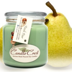 Pear Scented Candles by Candle Crest Soy Candles