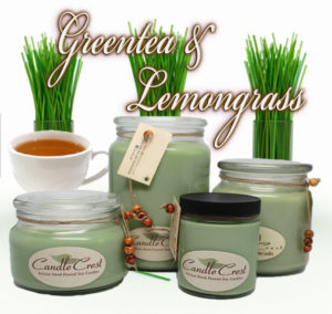 Greetea & Lemongrass Soy Candles by Candle Crest Soy Candles