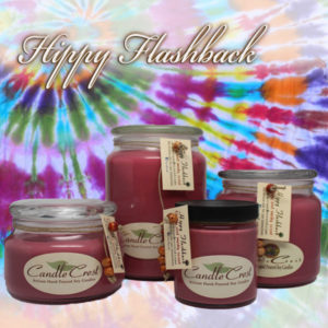 Hippy Flashback Scented Soy Candles by Candle Crest
