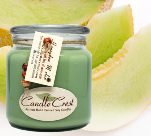 Honeydew Melon Scented Soy Candles by Candle Crest Soy Candles Inc