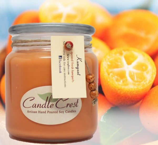 Kumquat Scented Soy Candles by Candle Crest Soy Candles Inc