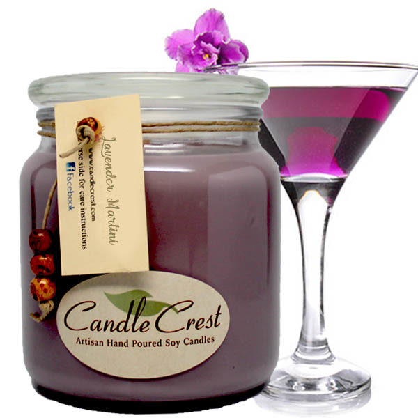 Martini Candles by Candle Crest Soy Candles Inc