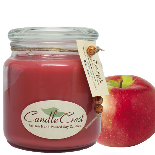 Apple Scented Soy Candles by Candle Crest Soy Candles Inc