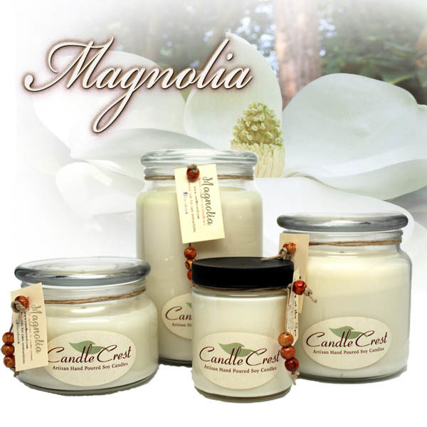 Magnolia Candles by Candle Crest Soy Candles Inc