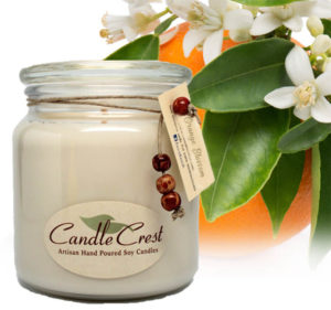Orange Blossom Flowers - Soy Candles by Candle Crest Soy Candles Inc