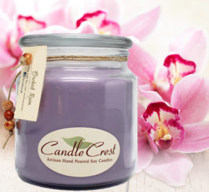 Orchid Scented Soy Candles by Candle Crest Soy Candles Inc