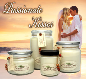 Passionate Kisses Soy Candles by Candle Crest Soy Candles Inc