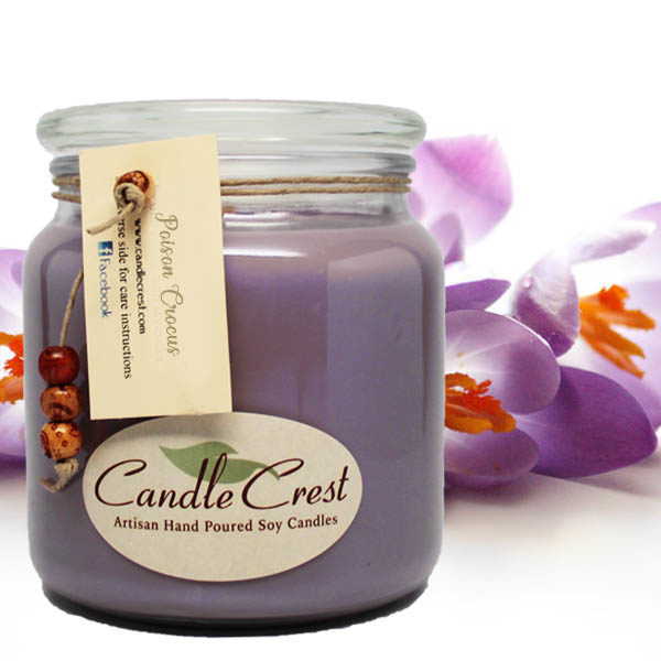Poison Crocus Candles by Candle Crest Soy Candles Inc