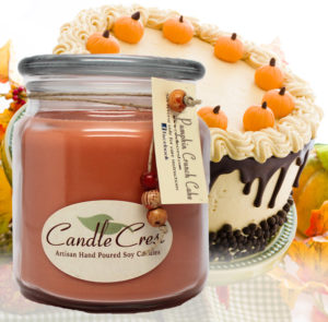 Pumpkin Crunch Cake Soy Candles by Candle Crest