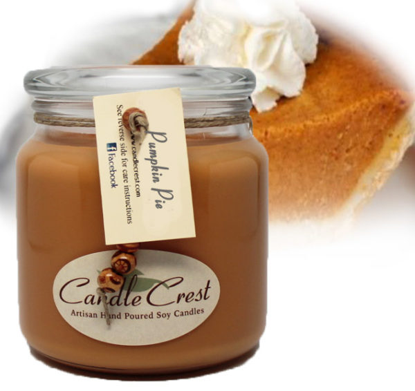 Pumpkin Pie Scented Candles by Candle Crest Soy Candles Inc