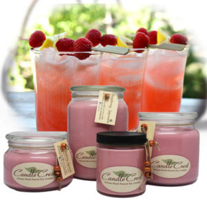 Raspberry Lemonade Candles by Candle Crest Soy Candles Inc