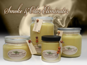 Smoke and Odor Eliminator Candles by Candle Crest Soy Candles Inc