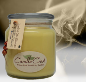 Smoke Eliminator and Odor Candles by Candle Crest Soy Candles Inc