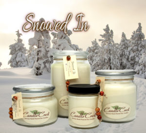 Snowed In Scented Soy Candles by Candle Crest