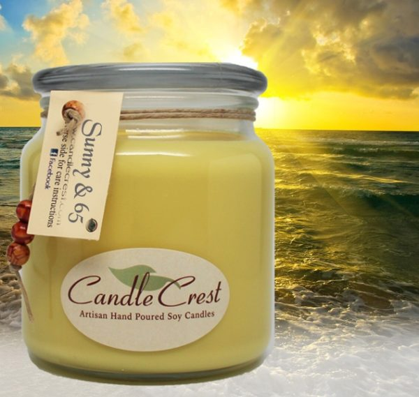Sunny & 65 - Soy Candles by Candle Crest Soy Candles