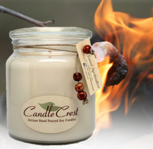 Toasted Marshmallow Scented Candles by Candle Crest Soy Candles Inc
