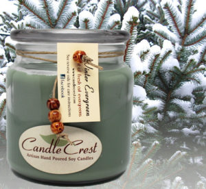Winter Evergreen Soy Candles by Candle Crest Soy Candles