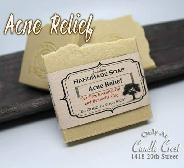 Acne Relief Soap by Judakins Bath & Body