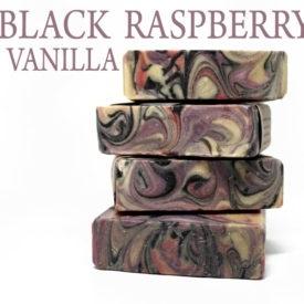 BLACK RASPBERRY VANILLA HANDMADE SOAP - Vegan Friendly Bath & Body by Judakins Bath & Body
