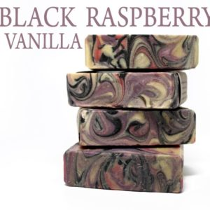 BLACK RASPBERRY VANILLA HANDMADE SOAP - Vegan Friendly Bath & Body by Judakins Bath & Body