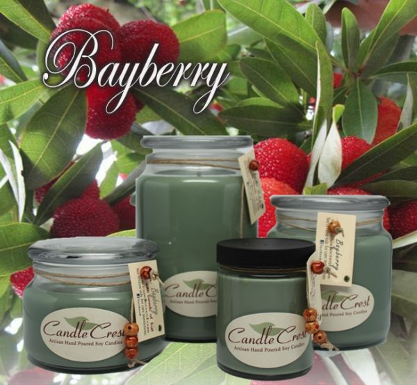 Bayberry Scented Soy Candles by Candle Crest Soy Candles Inc
