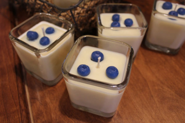 Blueberry Muffin Soy Candles by Candle Crest Soy Candles