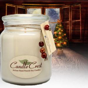 Unique Candle Fragrances - Christmas Past Soy Candles by Candle Crest Soy Candles Inc