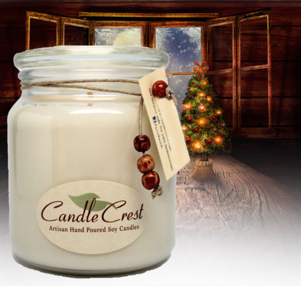 Unique Candle Fragrances - Christmas Past Soy Candles by Candle Crest Soy Candles Inc