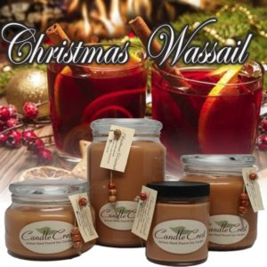 Christmas Wassail- Holiday Soy Candles by Candle Crest Soy Candles Inc