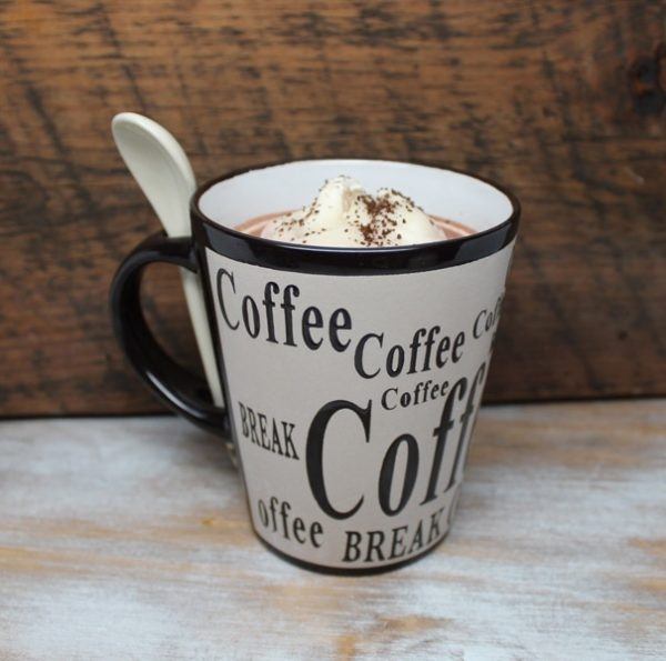 Coffee Lovers Gift - Coffee Cup Candles by Candle Crest - Cream Cup