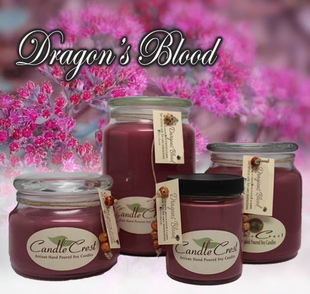 Handmade Soy Candle Dragon/'s Blood Soy Candle 13 oz
