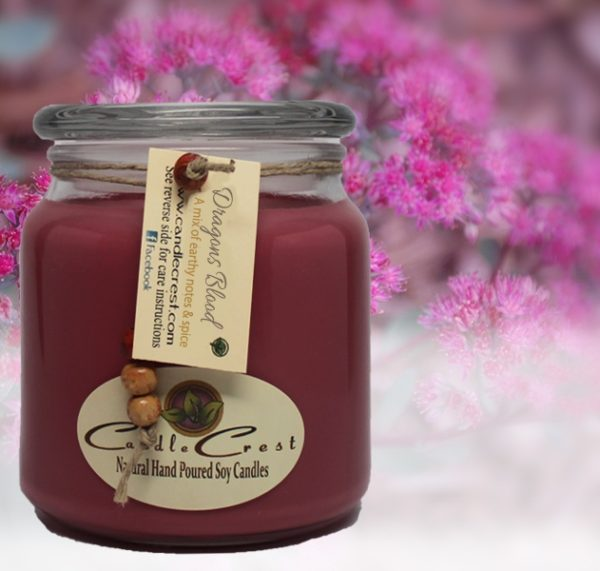 Dragons Blood Scented Soy Candles by Candle Crest Soy Candles Inc