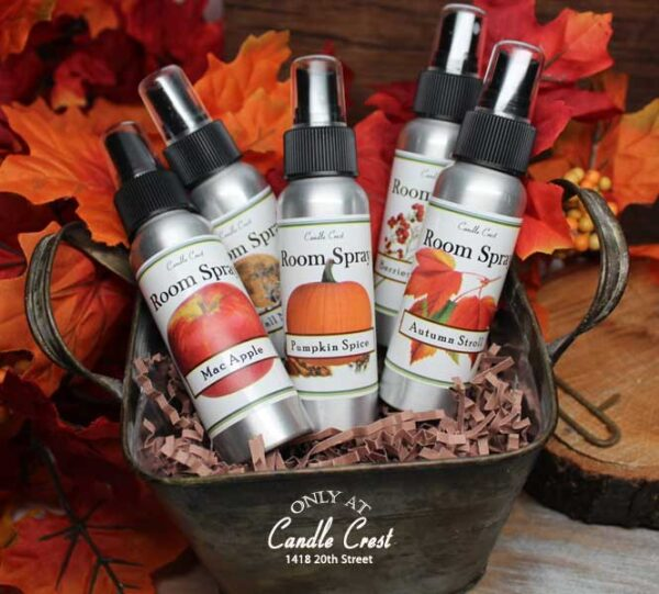 Fall Room Air Fresheners by Candle Crest Soy Candles