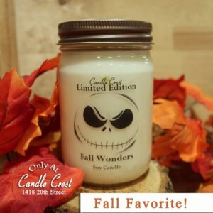 Fall Candles by Candle Crest Soy Candles Inc
