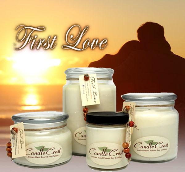 First Love Soy Candles by Candle Crest Soy Candles Inc