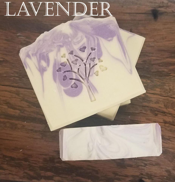 Natural Lavender Handmade Soaps - Vegan Friendly Soap