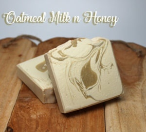 Oatmeal Milk & Honey Soaps - Vegan Friendly Soap